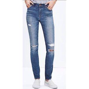 "MADEWELL | 9"" High Riser Skinny Skinny Jeans 27"